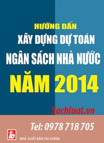 xây dựng dự toán nsnn 2014