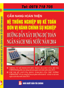 xây dựng dự toán ngân sách năm 2014