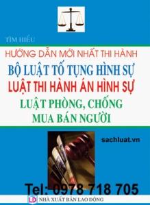 LUẬT THI HÀNH ÁN HÌNH SỰ - LUẬT PHÒNG, CHỐNG MUA BÁN NGƯỜI 2014