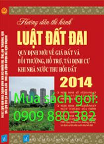 hướng dẫn thi hành luật đất đai 2014