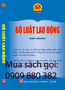 sách bộ luật lao động song ngữ  anh viêt 2014