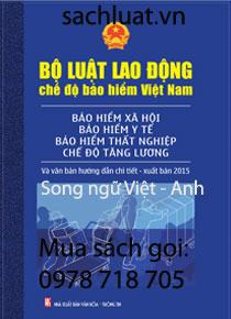 sách bộ luật lao động song ngữ anh việt 2015